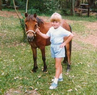 Pictures of you and your ponies! Me%20with%20kitty%201988